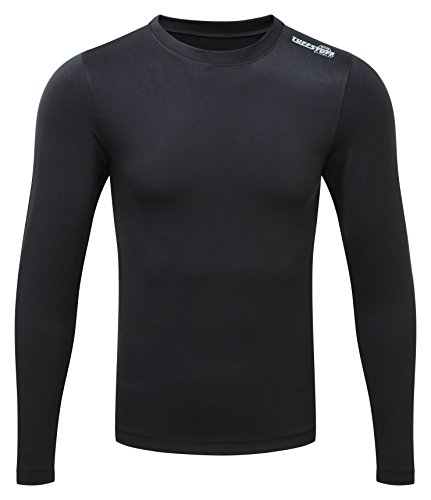 Base Layer Thermo Boden (Castle Clothing 808'basewear Top, schwarz, 2X L)