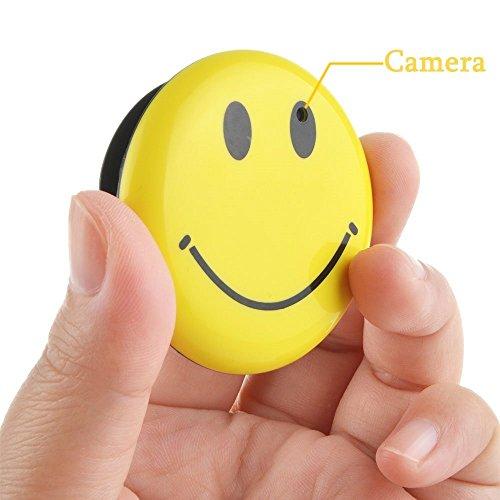 Electro-Weideworld - Mini DV Oculto Cámara Smile face Cámara espía DVR Videocámara Grabadora de Vídeo espia coche camara