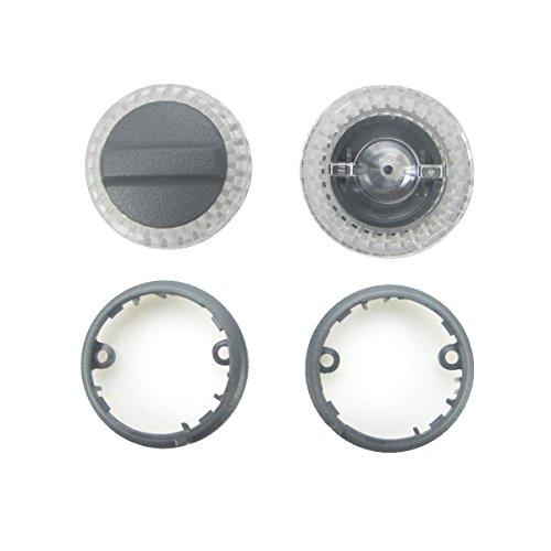 Kismaple LED-Lampenabdeckung + Basis ring-Sets Ersatzreparatur Ersatzteil-Kits Zubehör für DJI Spark Drone