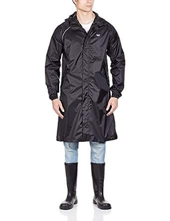Wildcraft Men's Synthetic Raincoat (8903338037699_Coat Anthracite S)