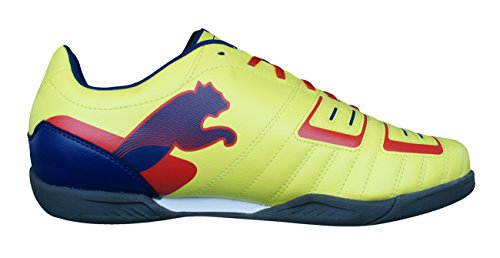 Puma PowerCat 4 IT Futsal Hommes Chaussures de football yellow