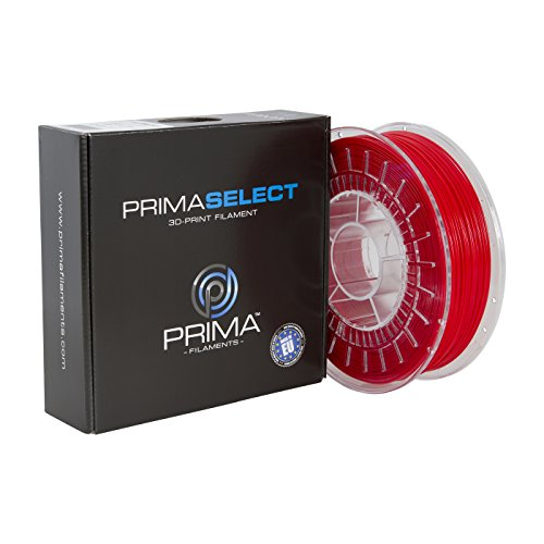 PrimaCreator PrimaSelect 3D Drucker Filament - PETG - 1,75 mm - 750 g - Rot -