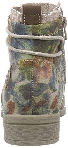 Bruno Banani Damen Stiefelette Desert Boots Mehrfarbig (Grey Multi 299)