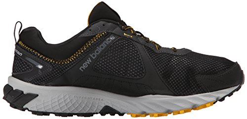 New Balance Men's MT610V5 Trail Shoe Black/Gold Rush