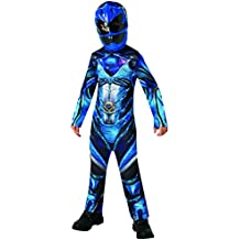 Saban–i-630714l–Disfraz clásico Power Rangers–azul–Talla L