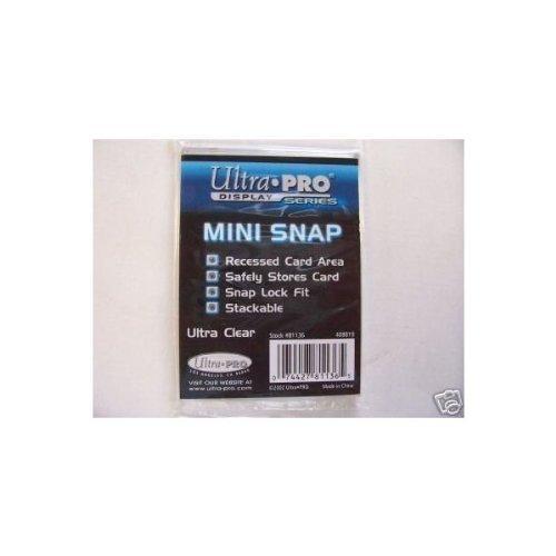5 Ultra Pro Display Series Mini Snap Loader #81136 by UltraPro Mini-snap