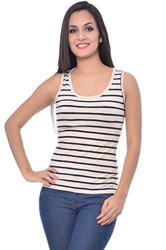 8ce948f869 Frenchtrendz Women Cotton Spandex Medium Tank Top ...