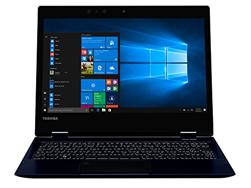 TOSHIBA Portege X20W-D-10V Laptop (Intel i7-7500U, 31,7cm 12,5Zoll Full-HD entspiegelt, 8GB RAM, 512GB SSD, WLAN, Bluetooth 4.2, Windows 10 Pro) blau