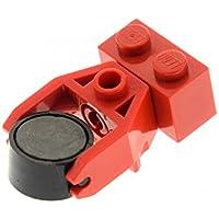 1 x Lego System Zug Magnet schwarz im Zylinder mit Kupplung Neue-Form Eisenbahn