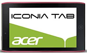 Acer Iconia A100 17,8 cm (7 Zoll) Tablet PC (NVIDIA Tegra2, 1GHz, 1GB RAM, 8GB Flashspeicher, Android 3.2) rot