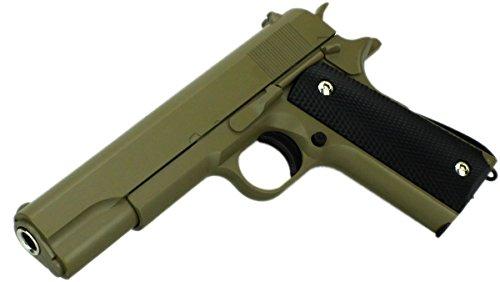 B.W. GYD G13Sa Vollmetall Pistole 22cm Softair Airgun Gewehr Sand Magazin Federdruck 0,5 Joule Original