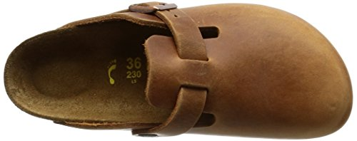Birkenstock Boston 760893, Chaussures mixte adulte Antique/Marron