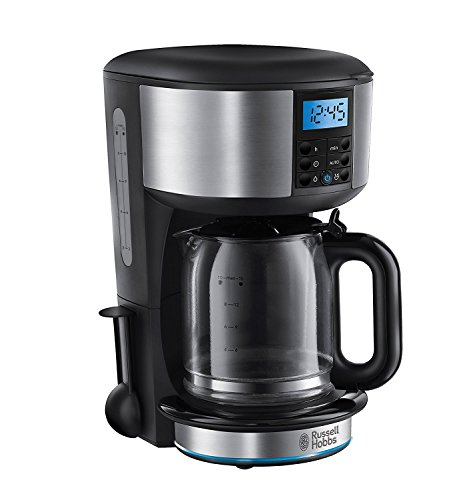 Russell Hobbs Buckingham 1.25 L Filter Coffee Machine 20680 - Black and Silver Test