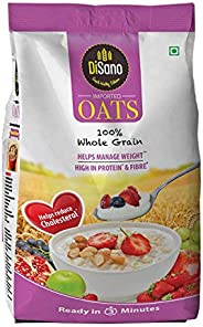 Disano High in Protein and Fibre Oats Pouch, 1 kg