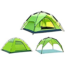 Yx-outdoor Carpa Tipo cúpula portátil para 3-4 Personas, Carpa Multiusos de