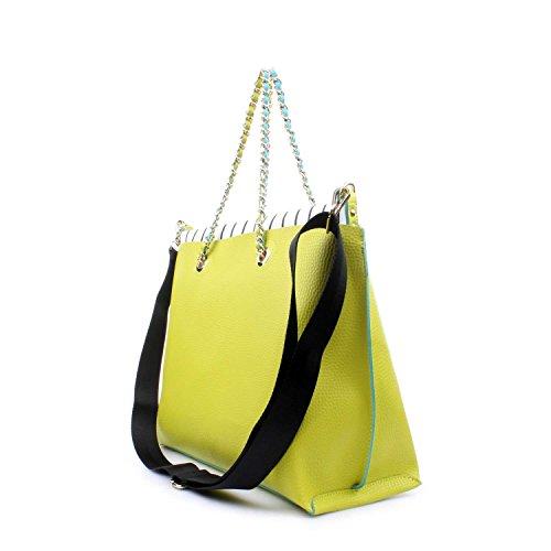 Byblos Blu 670200 Shopping Donna Verde acido