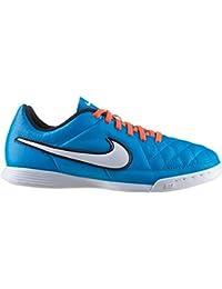 cozy fresh cb638 ba51d Nike Jr. Tiempo Genio IC Unisex Bambini Scarpe da Calcio, Neo Turq/White