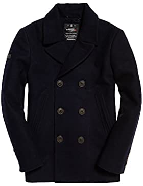 Superdry Rookie Peacoat, Capa para Hombre
