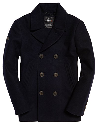 Superdry Herren Cape Rookie Peacoat Blau (Super Dark Navy)