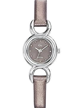 Go Girl Only Damen-Armbanduhr 698713–Armbanduhr 1076312Analog Leder Grau