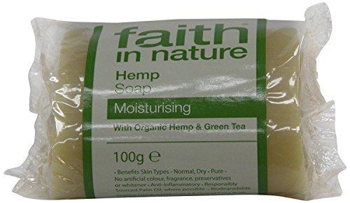 Faith in Nature Hemp & Lemongrass Pure Soap 100g