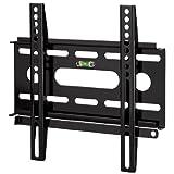 Hama TV-Wandhalterung Ultraslim für 48-94 cm Diagonale (19-37 Zoll), für max. 25 kg, VESA bis 200 x 200, schwarz