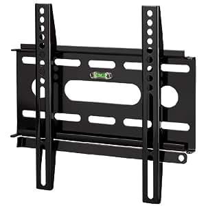 Hama TV-Wandhalterung Ultraslim für 48-94cm Diagonale (19-37 Zoll) Fernseher (max. 25 kg) VESA bis 200 x 200 schwarz