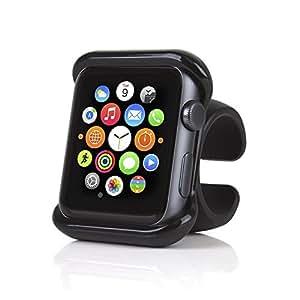 SATECHI Supporto Compatibile con Apple Watch Serie 1, 2, 2 e 4 per Volante Auto e Manubrio Moto/Bici (42mm)