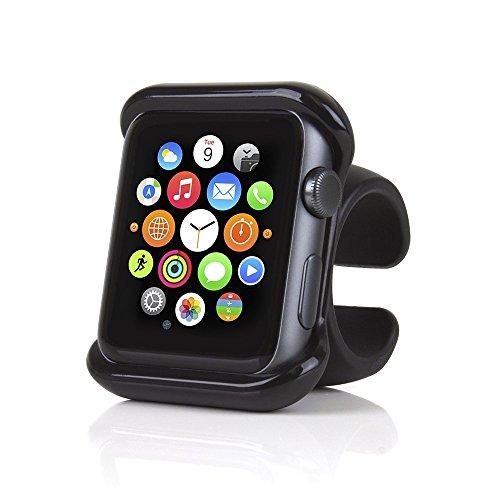Satechi Agarre de Montaje para Apple Watch Serie 1, 2 y 3 para Volante de Coche y Manillar de Bicicleta / Motocicleta (42mm)