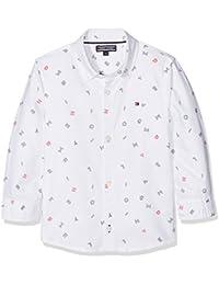 Tommy Hilfiger Micro Print Shirt L/S, Chemise Garçon