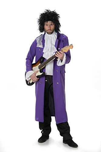* NEW * Prince Putple Rain Costume. Low Cost outfit includes jacket, trousers and ruffle shirt insert