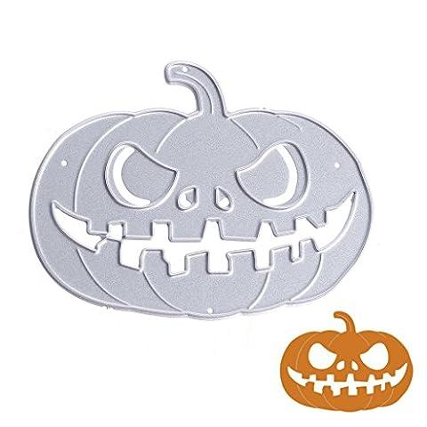 Dairyshop citrouille d'Halloween en métal de coupe Dies Pochoirs, Album de gaufrage pour papier carte DIY Craft