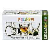 Fiesta 6 Piece Shot Glass Set - 2 oz
