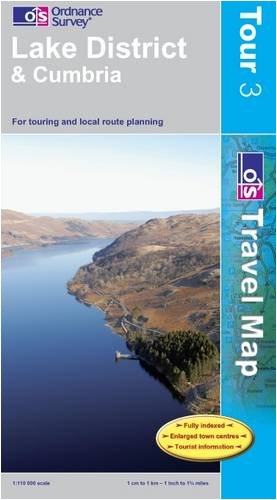 Lake District (OS Travel Map - Tour Map)