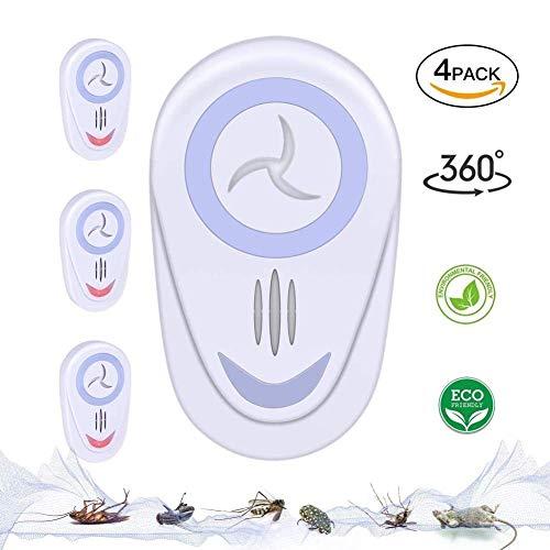 Elektrisches Mückenschutzmittel High Power, Für Schaben, Mücken, Mäuse, Ratten, Spinnen, Käfer, Fliegen, Insekten und mehr