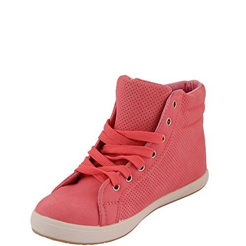 Unbekannt - Pantofole a Stivaletto Donna Rosa (rosa)