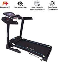 Fitkit FT200 Series (4.5 HP Peak) Motorized Treadmill withFree Dietitian,Personal Trainer, Doctor Consultation and ...