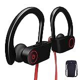 Cuffie Bluetooth Fitness Wireless, Auricolari Bluetooth Senza Fili Running Jogging Gym Workout Ciclismo Sport Microfono Stereo in...