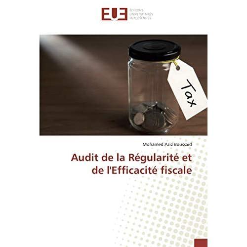 Audit de la Régularité et de l'Efficacité fiscale