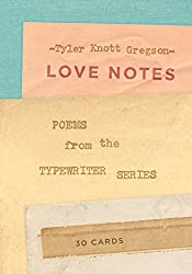 Love Notes: 30 Cards (Postcard Book): Poems from the Typewriter Series (Postcards)