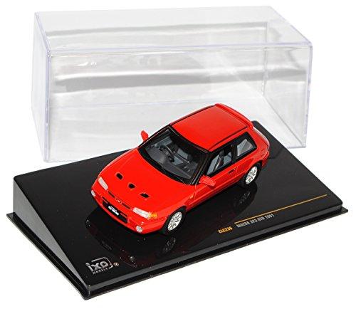 mazda-323-gtr-3-turer-rot-1989-1994-clc236-1-43-ixo-modell-auto