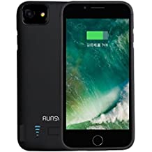 RUNSY iPhone 8 / 7 / 6S / 6 Akku Case Hülle, 5800mAh Batterie Case Hülle für iPhone 8 / 7 / 6S / 6 (4.7 Zoll), Power Case Hülle (4.7 Zoll)