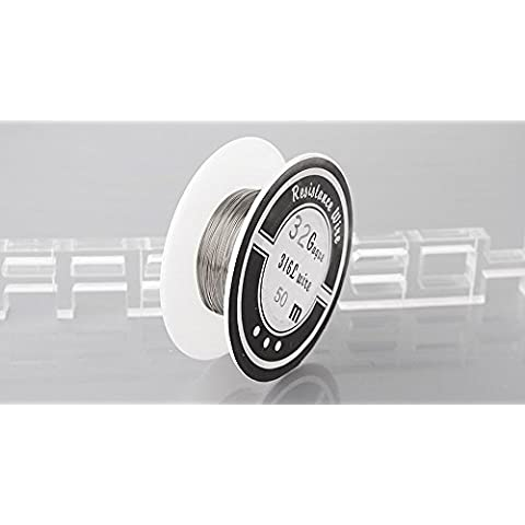 316L Stainless Steel Heating Wire for Rebuildable Atomizers , 32 AWG / 0.2mm*50m