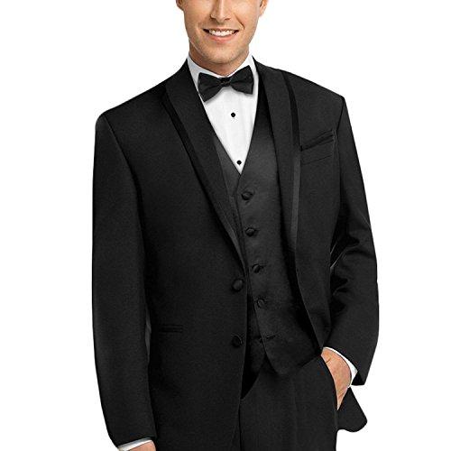 Lilis® Männer Custom Made Bräutigam Hochzeit 3 Stück Smoking Anzug Hosen Weste Set Aspen