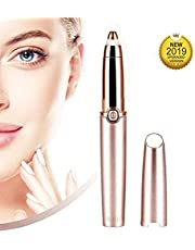 Flawless Portable Electric Eyebrow Facial Hair Remover Painless Trimmer for Smooth Finishing