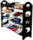 #4: Anva 4 Layer Easy to Assemble & light Weight Foldable 4 Shelves Shoe Rack *LIMITED PERIOD OFFER*