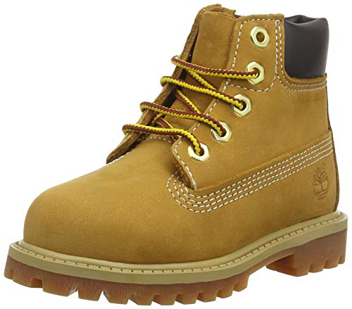 Timberland 6 In Classic Boot FTC_6 In Classic Boot, Unisex-Kinder Halbschaft Stiefel, Braun (Wheat Yellow), 40 EU -