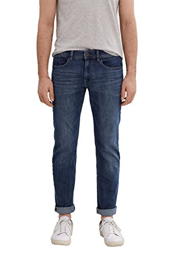 ESPRIT Herren Jeanshose 037EE2B015-Basic, Blau (Blue Medium Wash 902), W38/L34