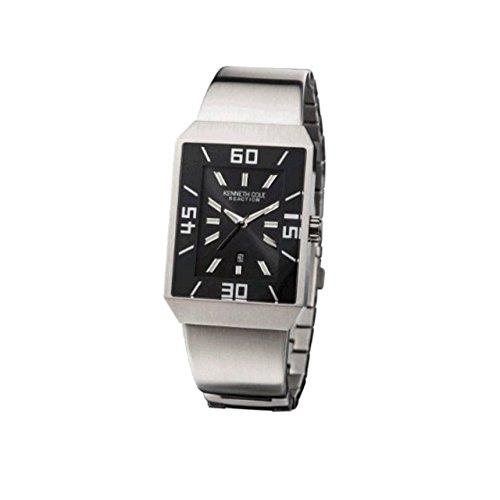 Kenneth Cole Gents Calendar Bracelet Watch KC3726 & Alarm Clock Gift Set