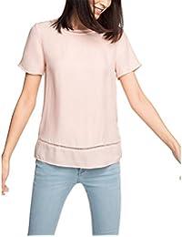ESPRIT Collection Damen Bluse 076eo1f010